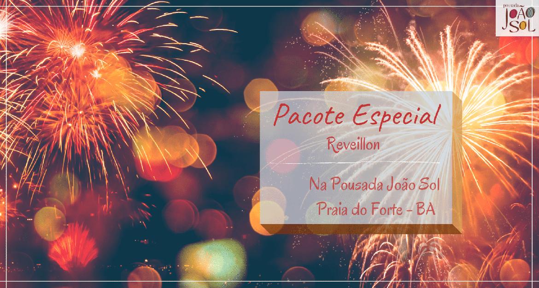 Pacote Reveillon na Praia do Forte 2021