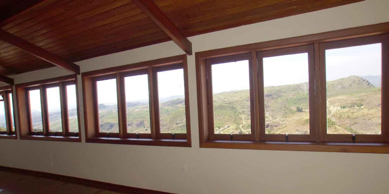 Um visual incrível para as montanhas de Minas Gerais