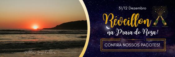 Pacote de Reveillon Ano Novo Praia do Rosa 2020 - 2021