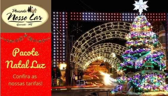 Pacote Natal Luz em Gramado Serra Gaúcha 2020