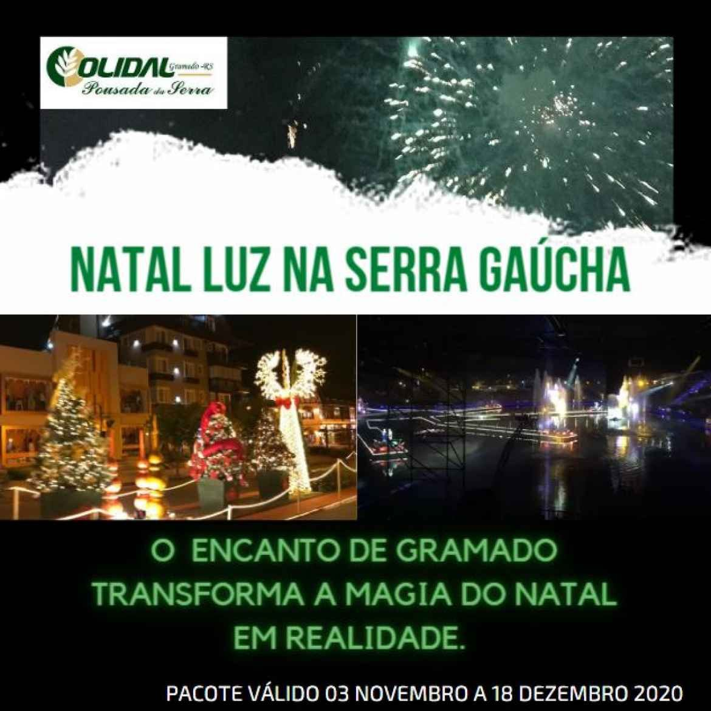 Pacote Natal Luz Gramado Serra Gaucha 2020