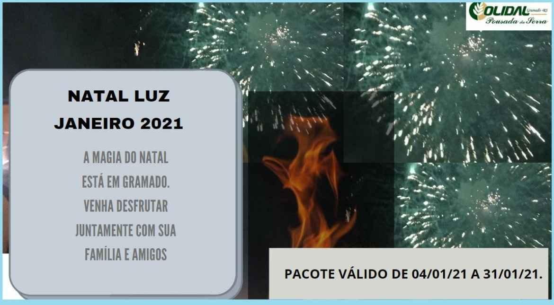 Pacote Natal Luz Janeiro - Gramado serra Gaúcha 2021